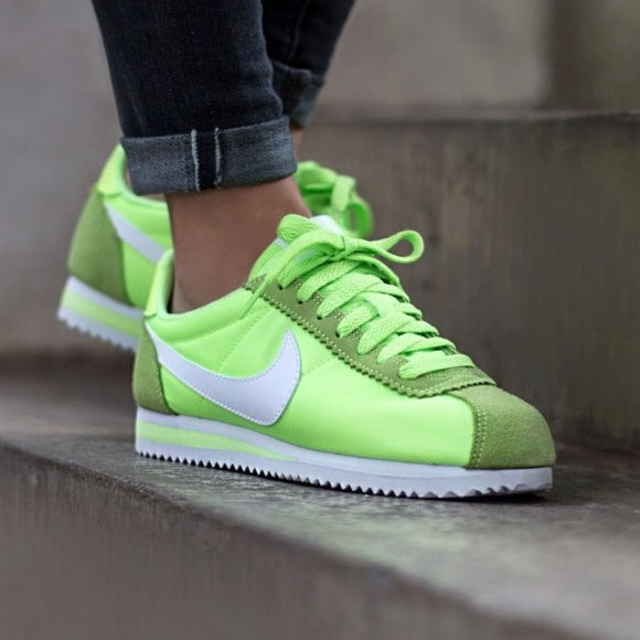 best sneakers efe7a 89133 ... discount code for nwt nike classic cortez nylon arctic green wmns ac806  947e0